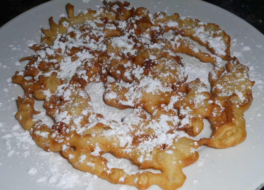 state fair funnel cake recipe