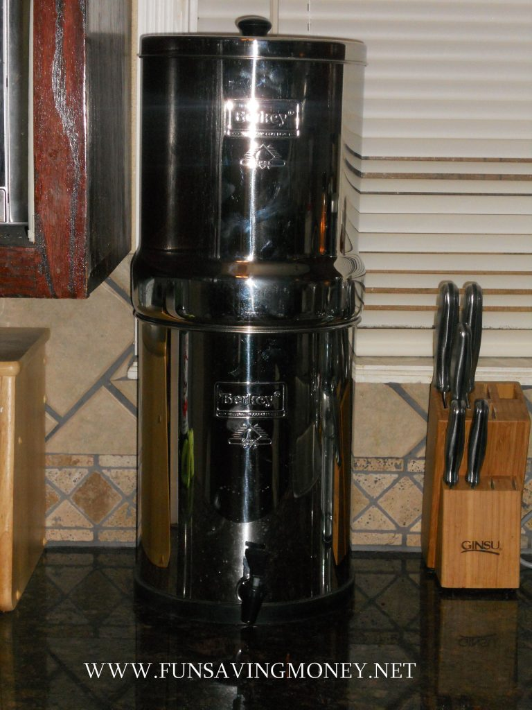 Royal Berkey Water Filtration System Review And Giveaway