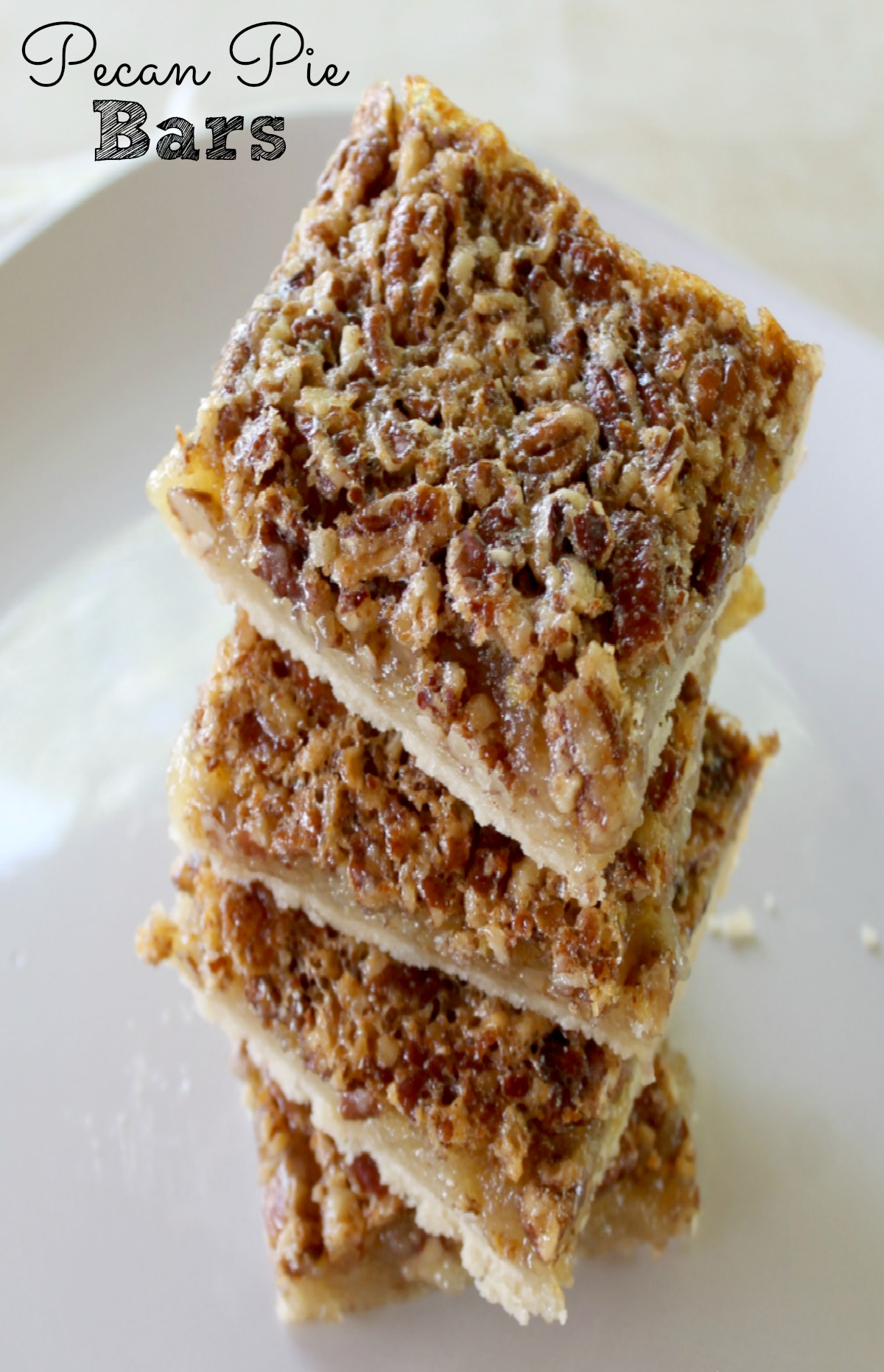 Pecan Pie Bars Pie Super Easy Pecan Recipe
