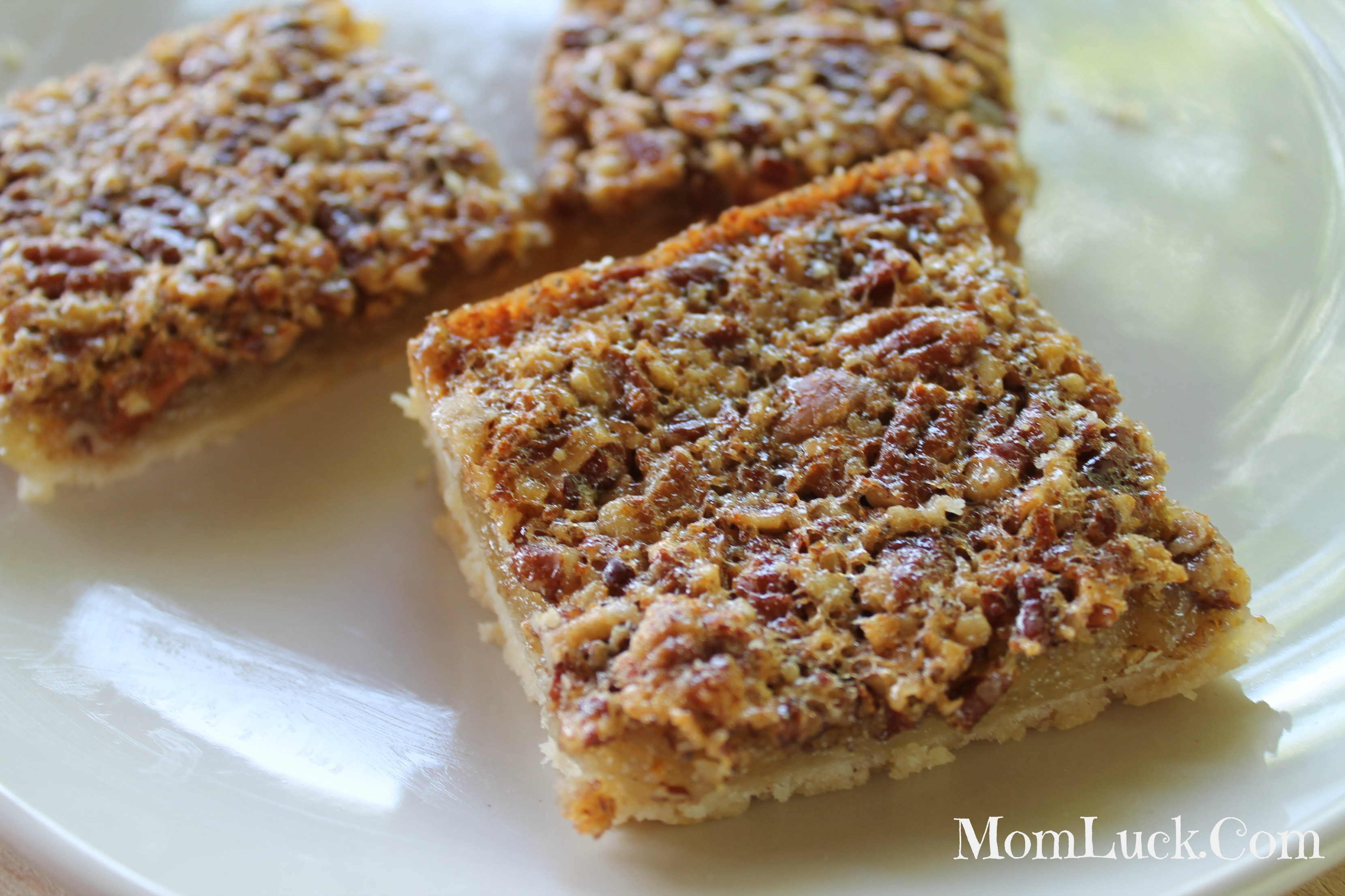 Pecan Bars Recipe — Dishmaps