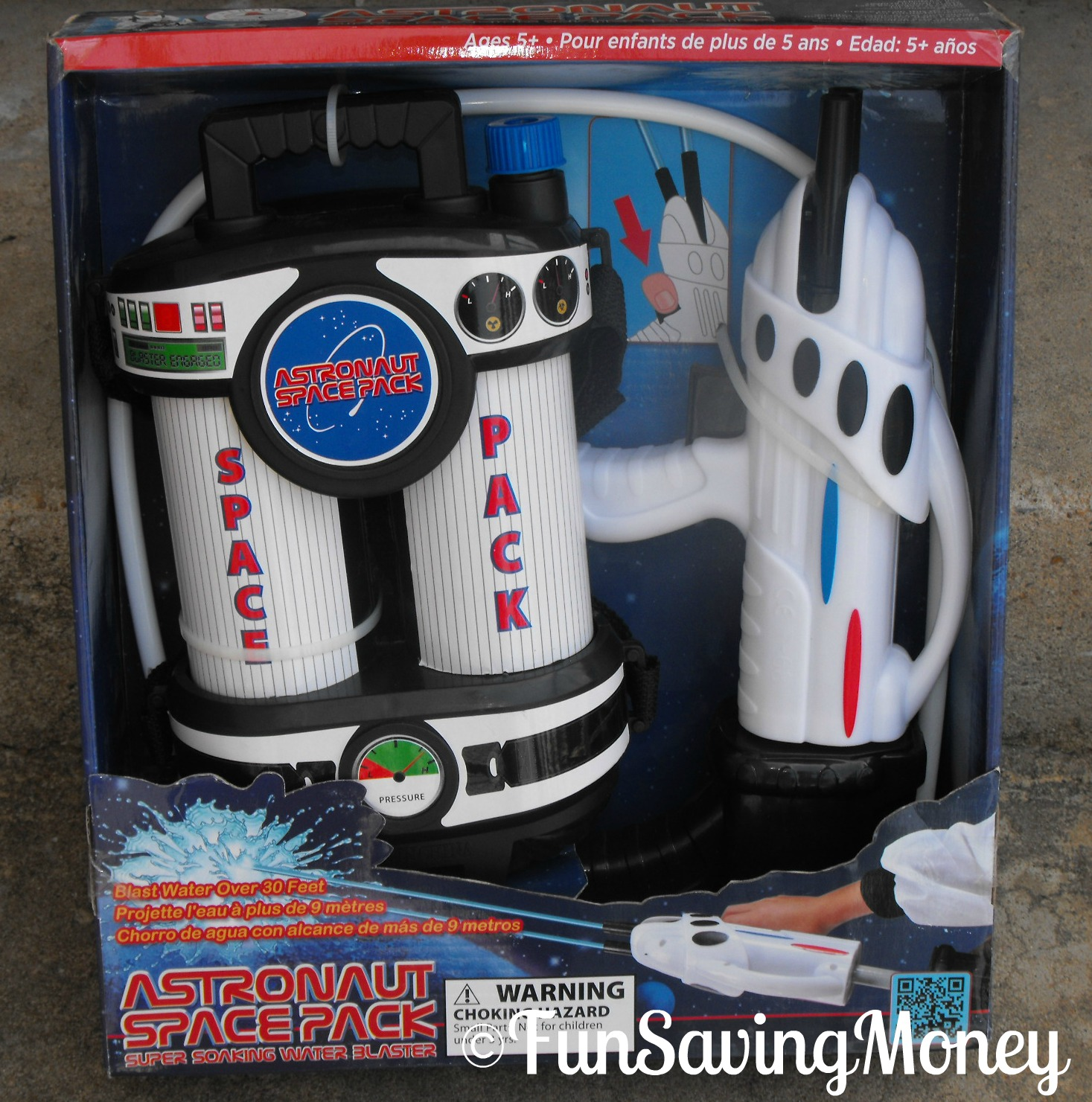 astronaut space pack water blaster - photo #2