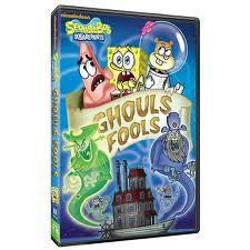 SpongBob SquarePants Ghouls Fools DVD