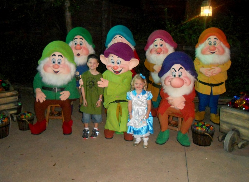 not so scary halloween party-Seven Dwarfs at Disney World