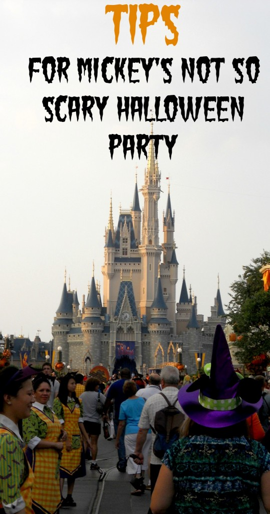 not so scary halloween party-tips for Disney