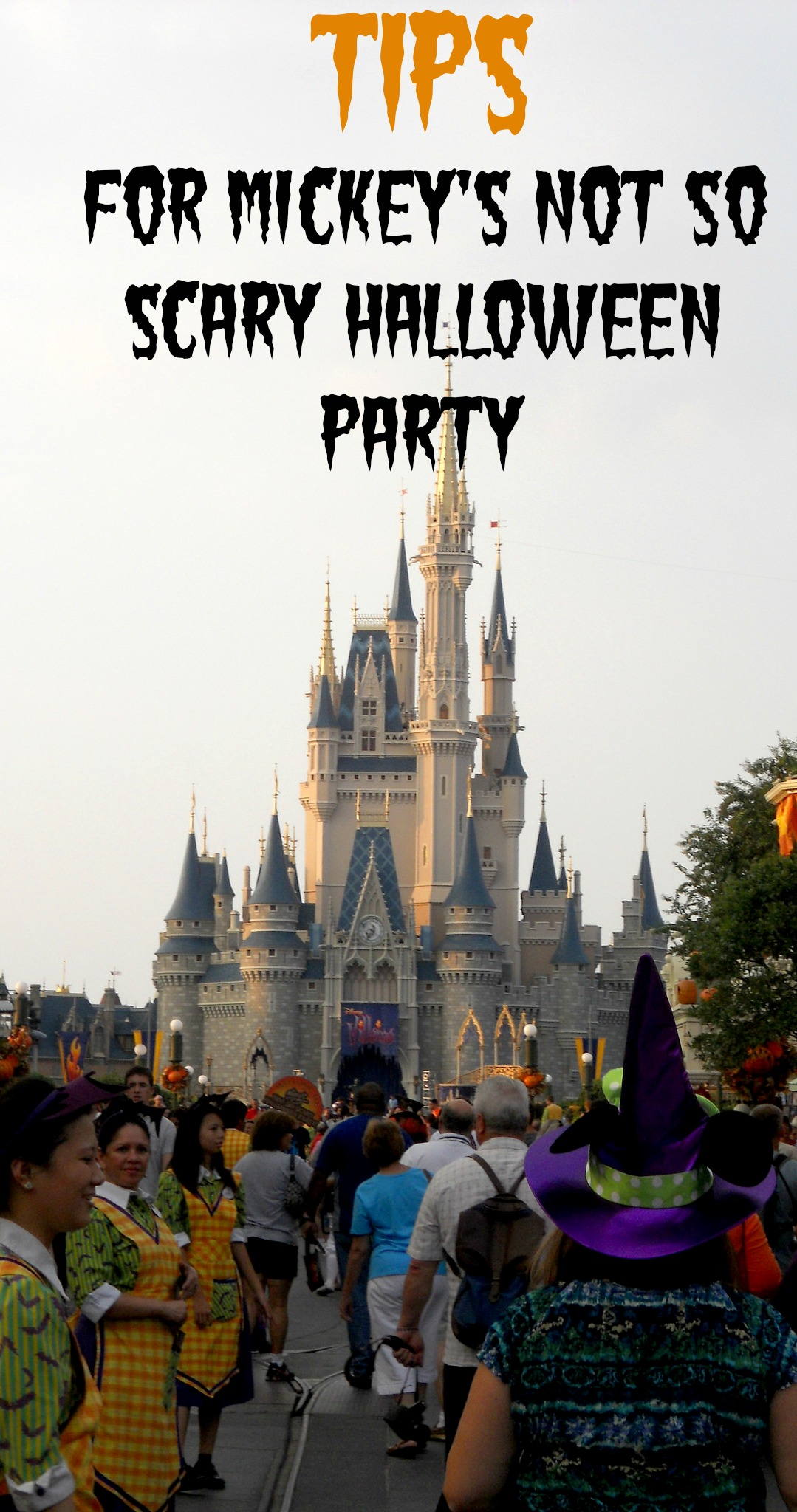 Not So Scary Halloween Party at Disney World