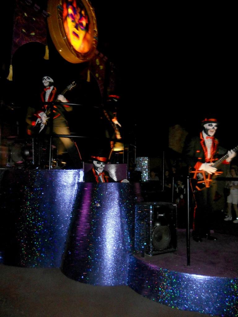 not so scary halloween party-villians parade