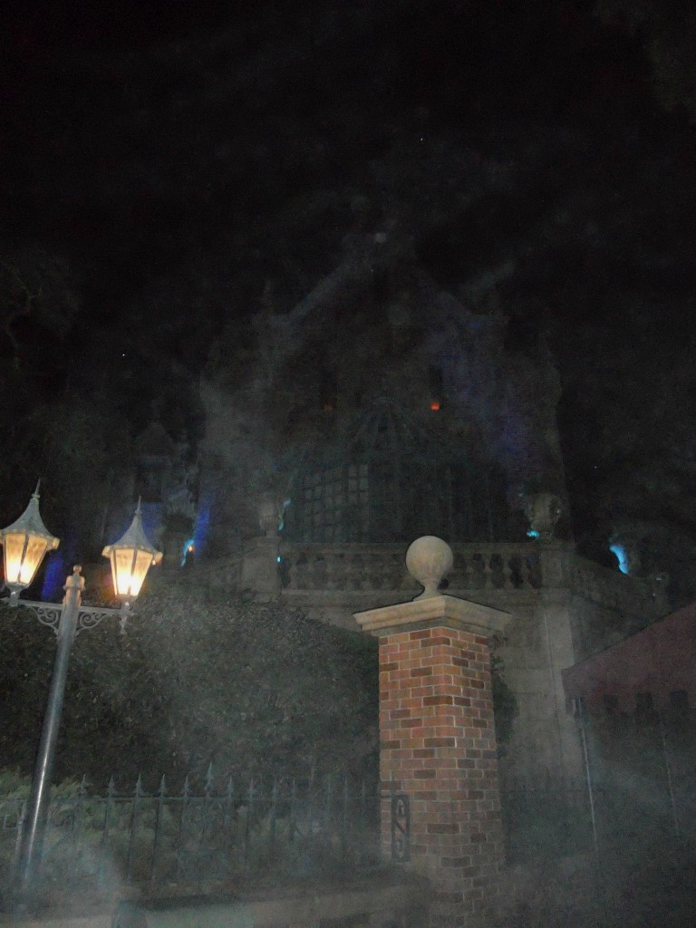 not so scary halloween-haunted mansion at halloween