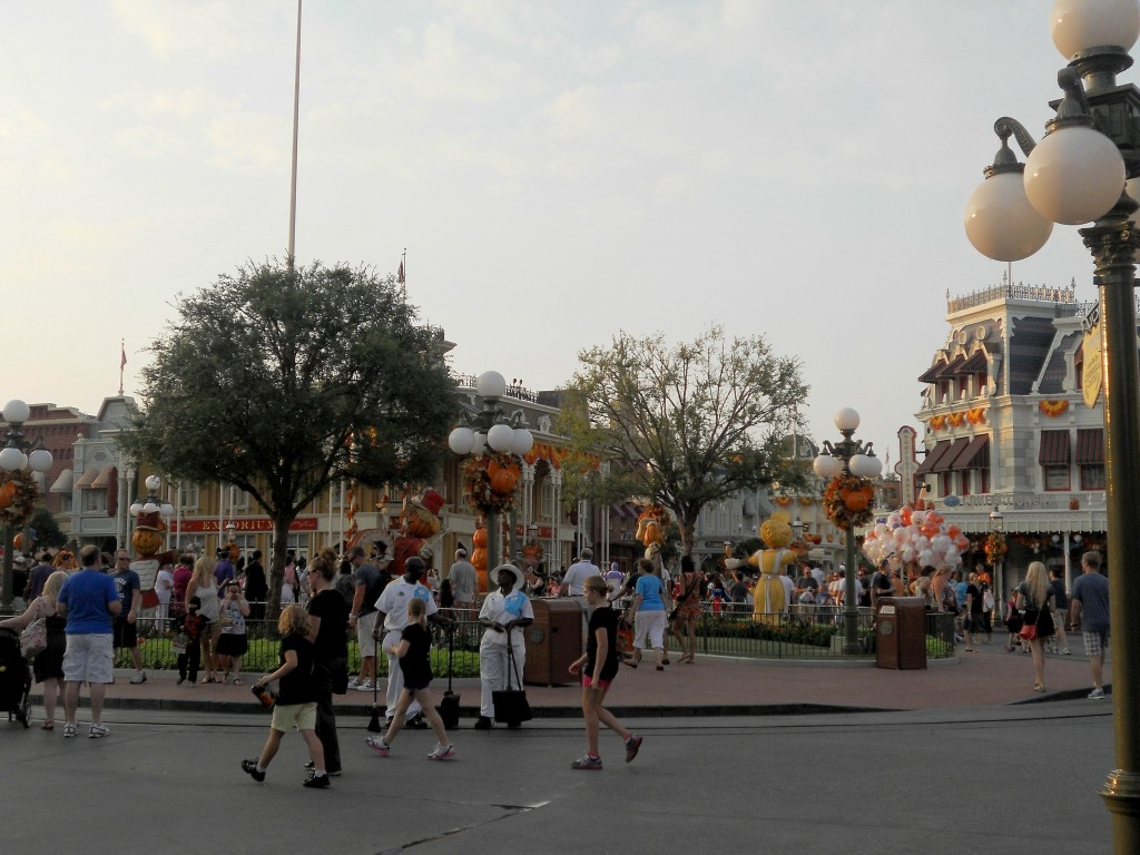 not so scary halloween party-Disney in October