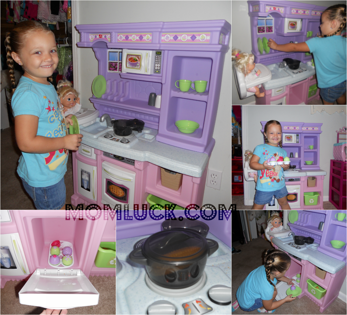 A Little Girls Dream Toy- The Step2 Little Baker's Kitchen ...