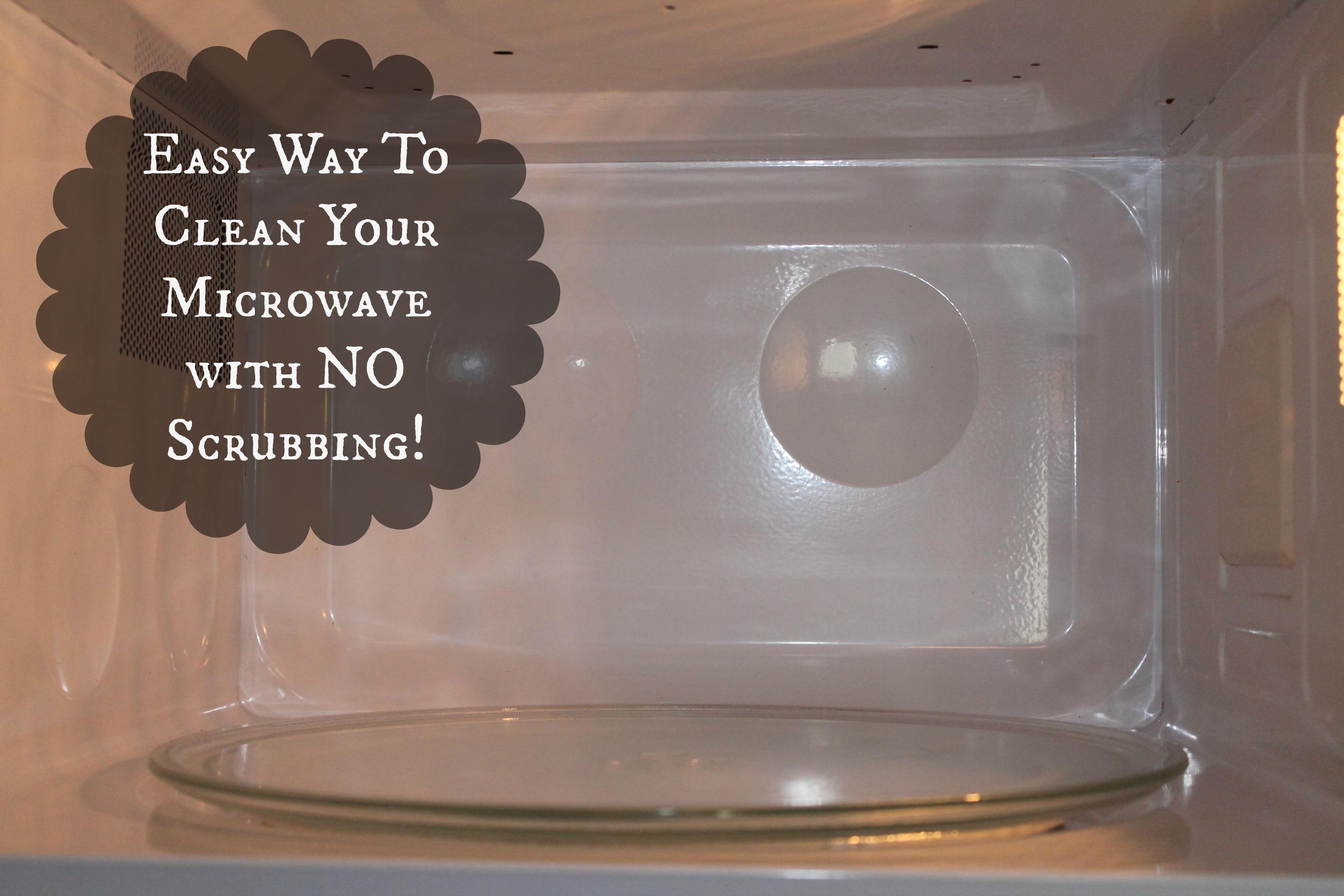 Diy Microwave Cleaning