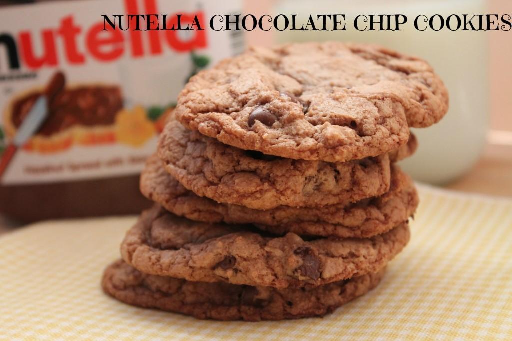 nutella cookie recipes