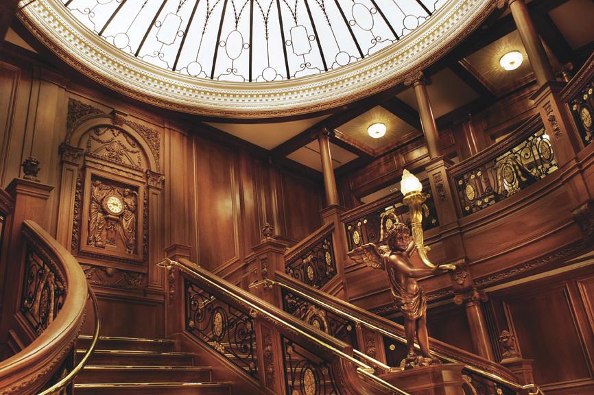 grand staircase Titanic