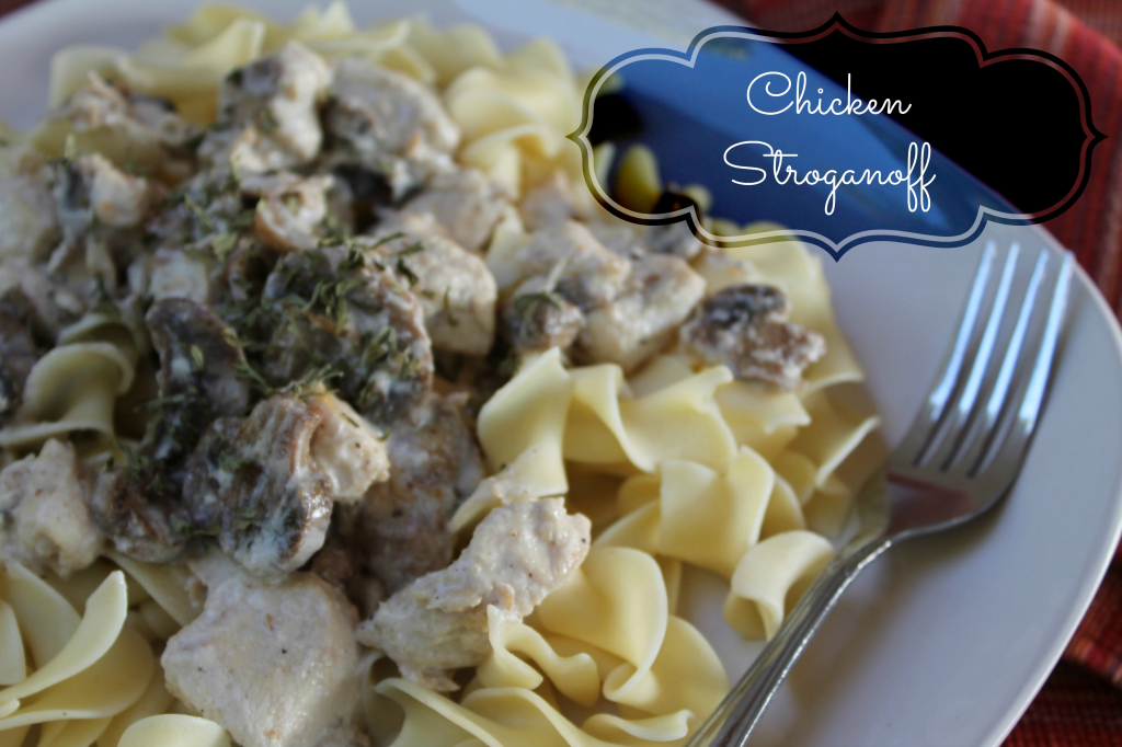 chicken recipes, chicken Stroganoff, Easy Weeknight Dinner Ideas, Chicken