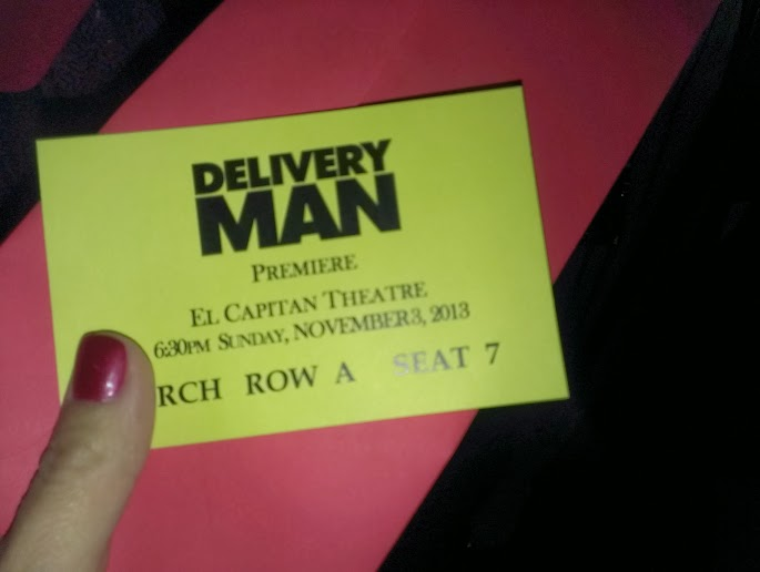 Delivery Man Starring Vince Vaughn Premiere