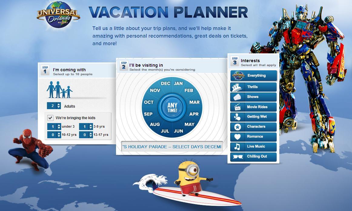 Familia Vacation Planner Viajes
