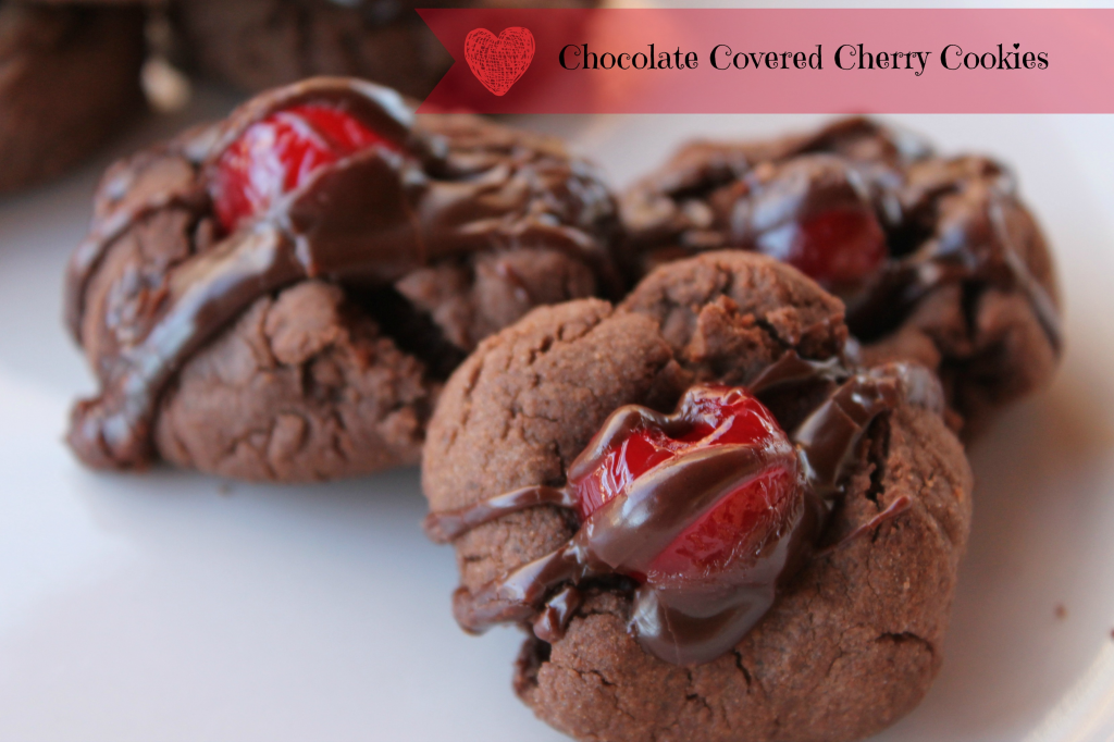 chocolate cherry ganache cookies cherry chocolate chunk cookies cherry ...