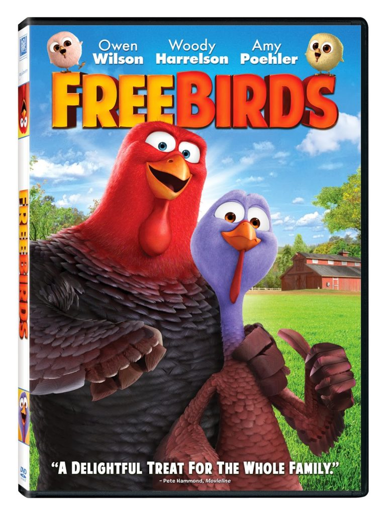 review free birds dvd kids