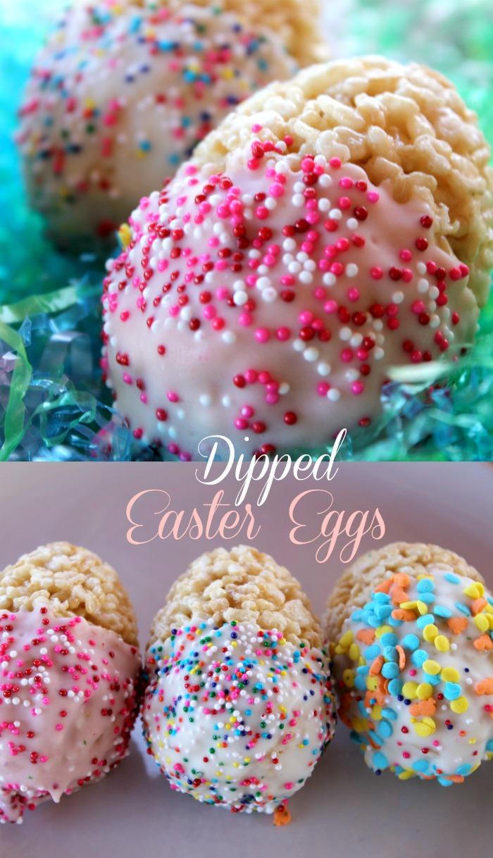 dipped easter eggs recipe