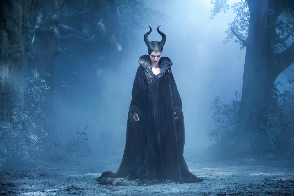 Exclusive Interview with Angelina Jolie as Maleficent