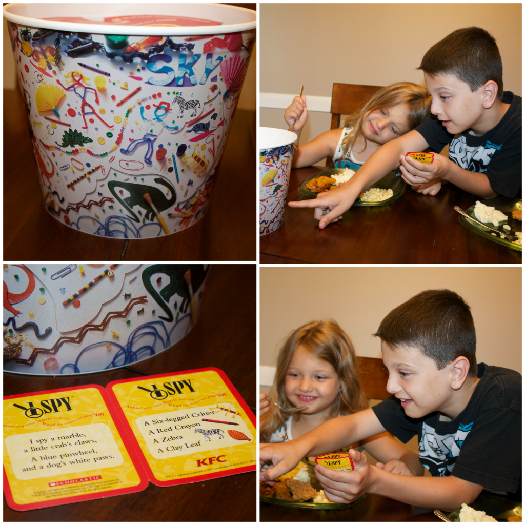 KFC Family Game Night Bucket