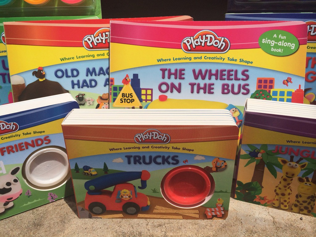 playdoh books