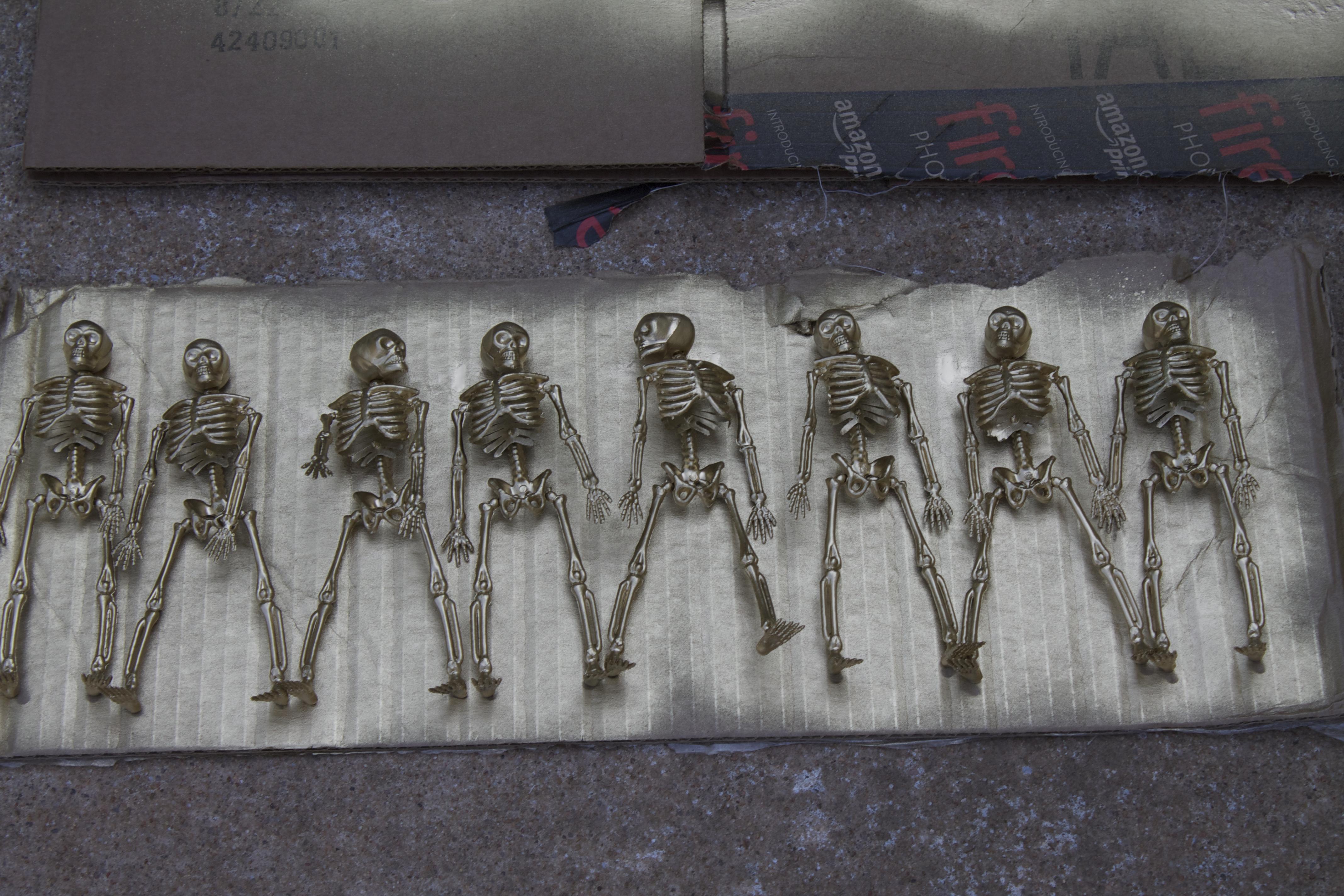 golden skeletons