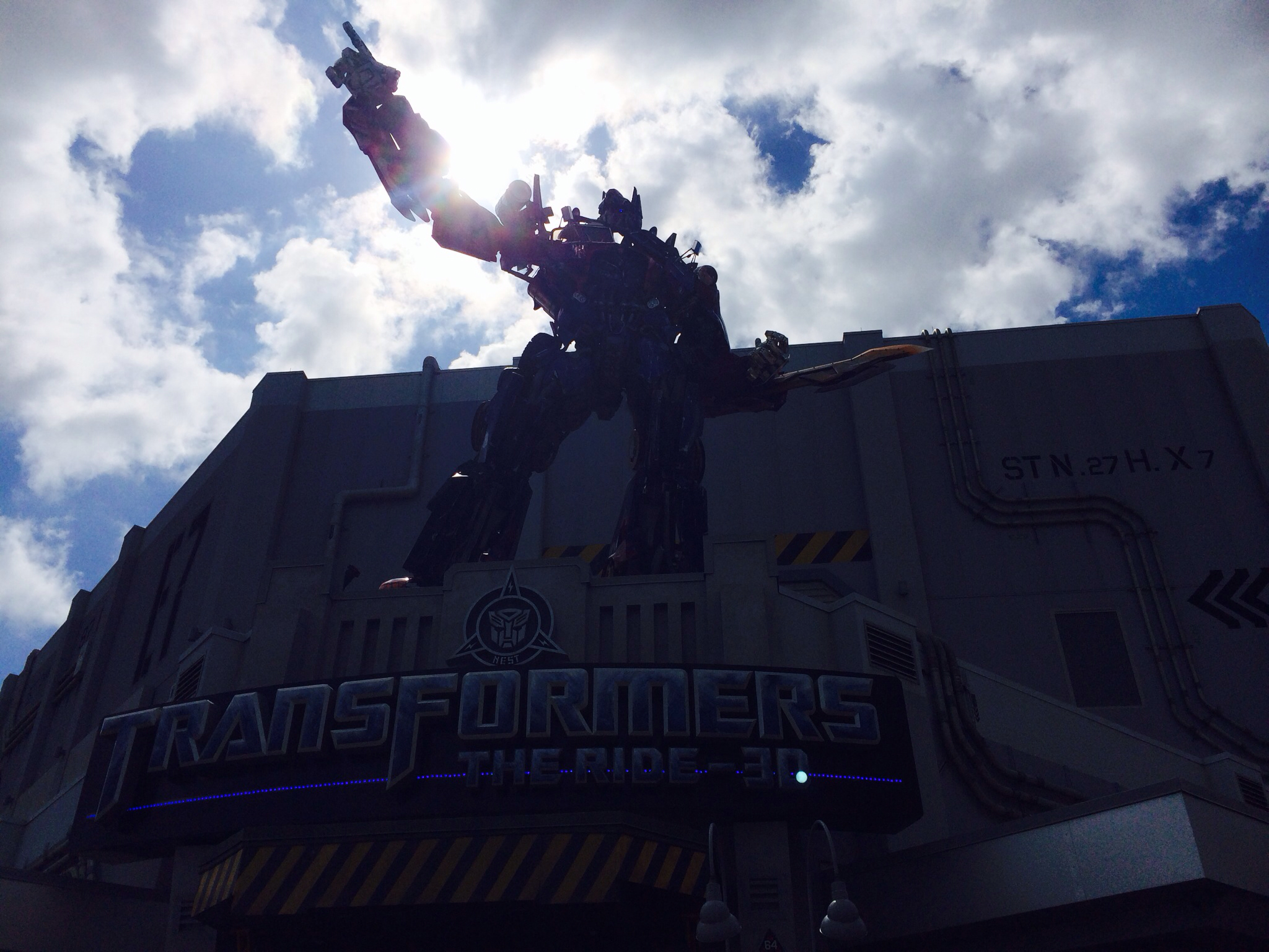transformers ride at Universal