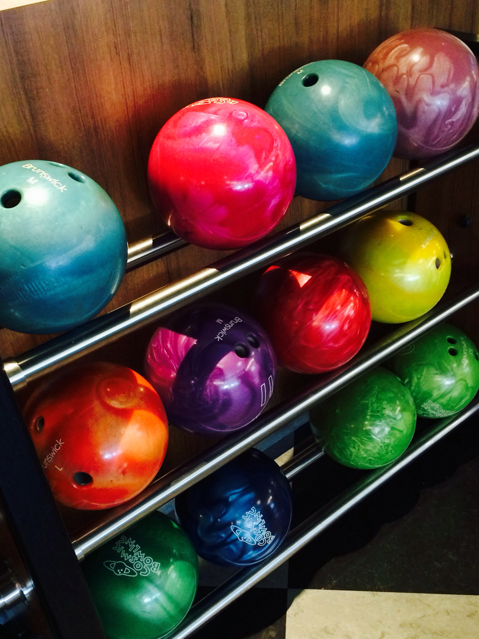 bowling alley at cabana bay