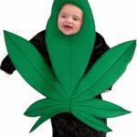 baby marijuana costume