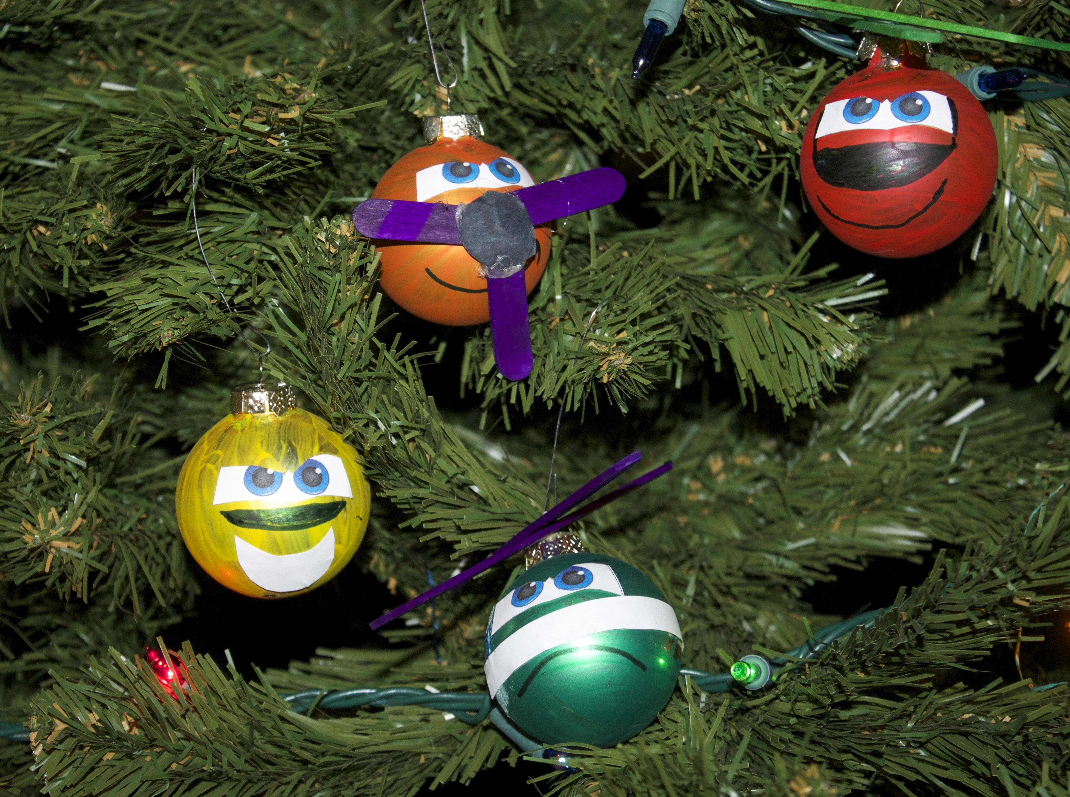 Planes Fire and Rescue Characters-Planes on Christmas Tree