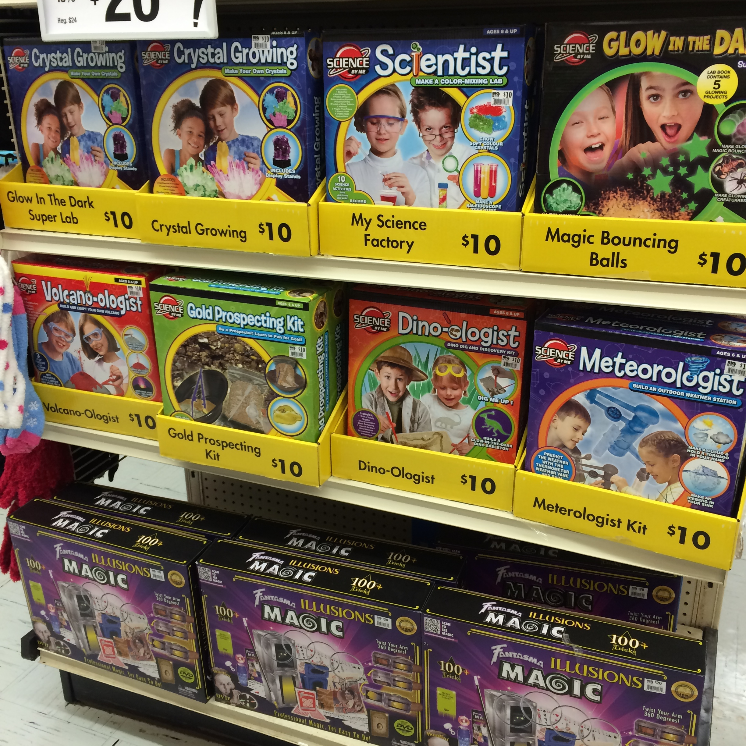 gifts for the entire family-science kits