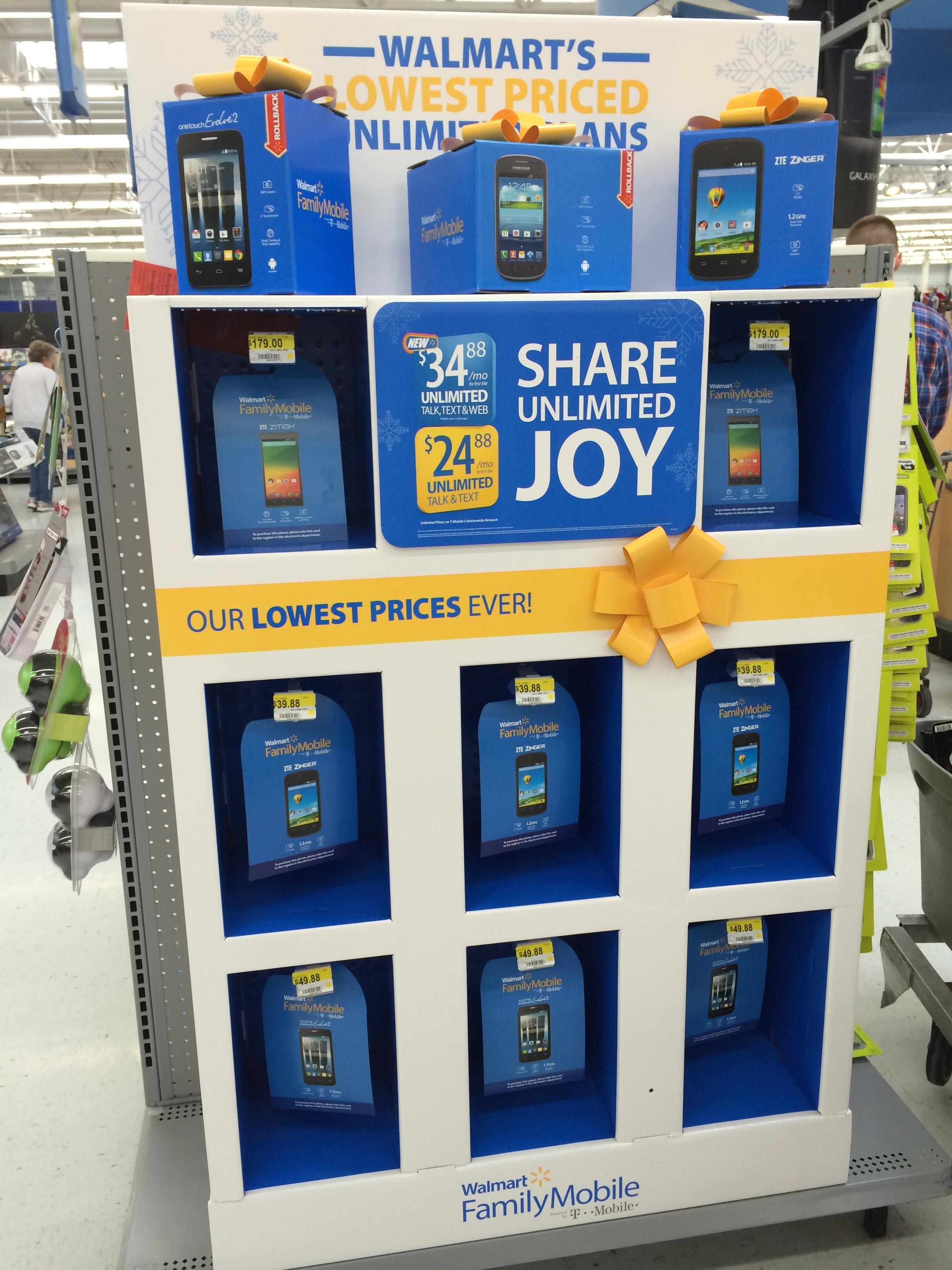 Walmart Family Mobile Plan-Phones