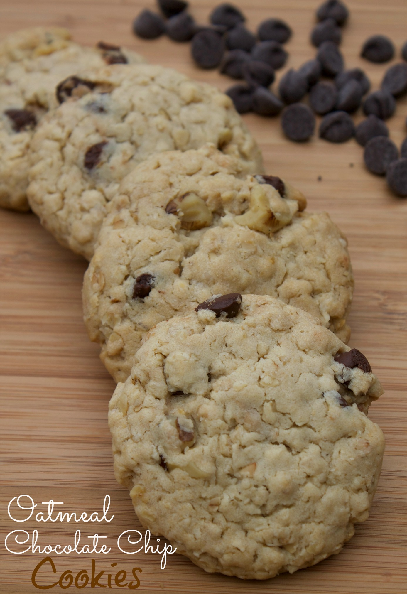 sweet swaps, splenda recipes, oatmeal chocolate chip cookies