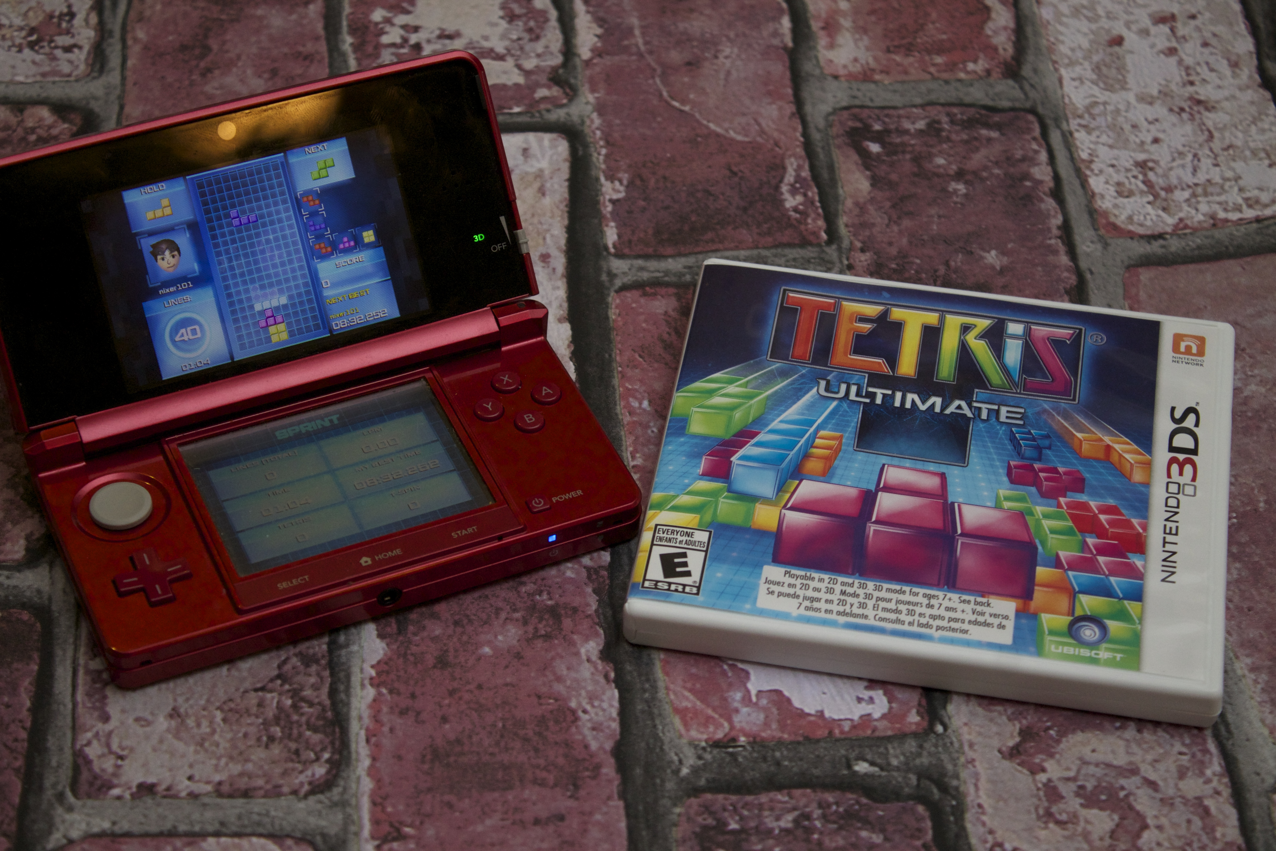 tetris ultimate for 3ds