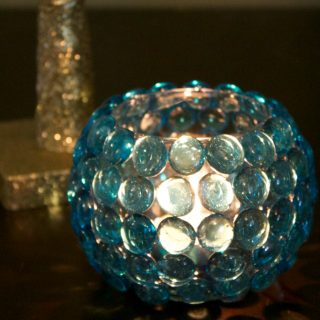Dollar Store Crafts: Glass Bead Vase