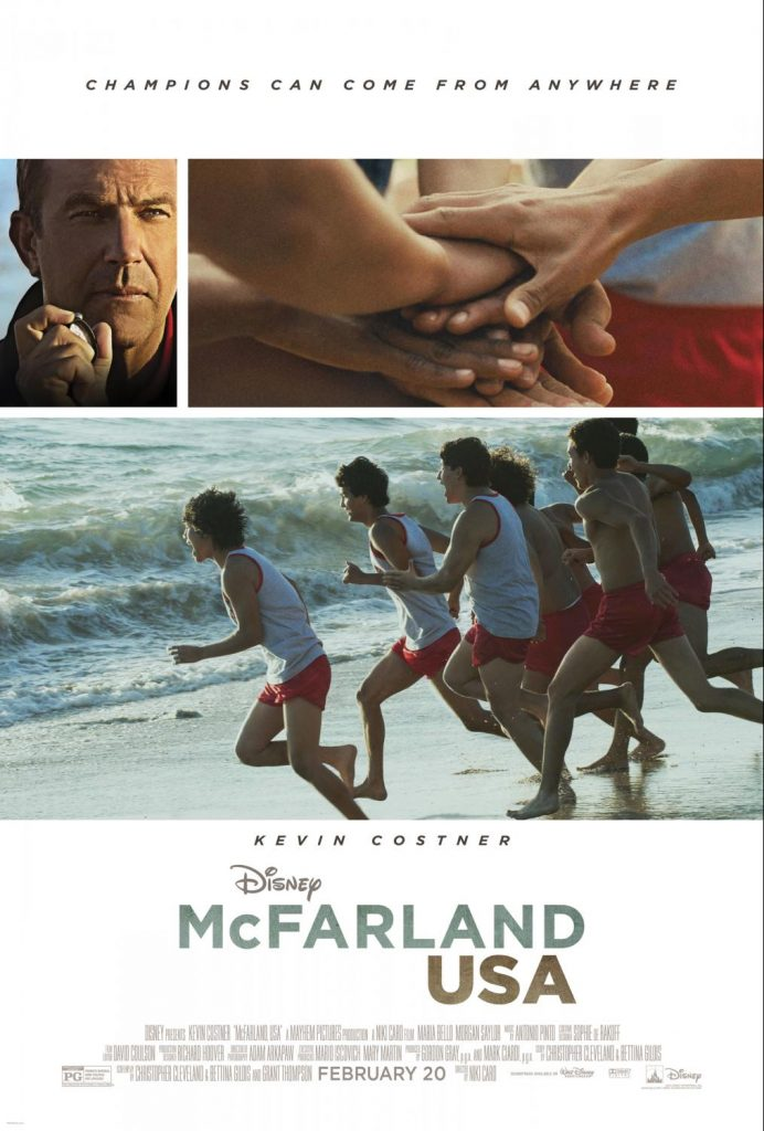 McFarland USA -movie poster