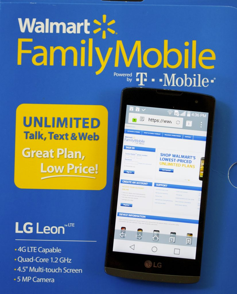 lg leon family mobile plan at walmart-apps that will save you money