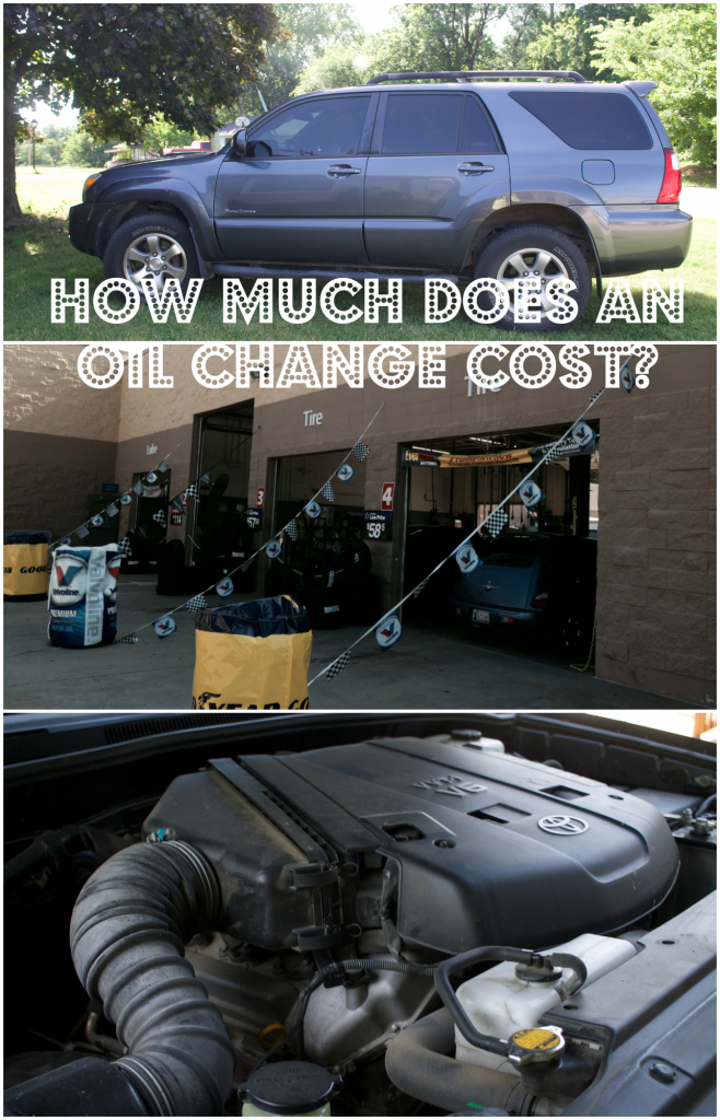 how much does an oil change cost.