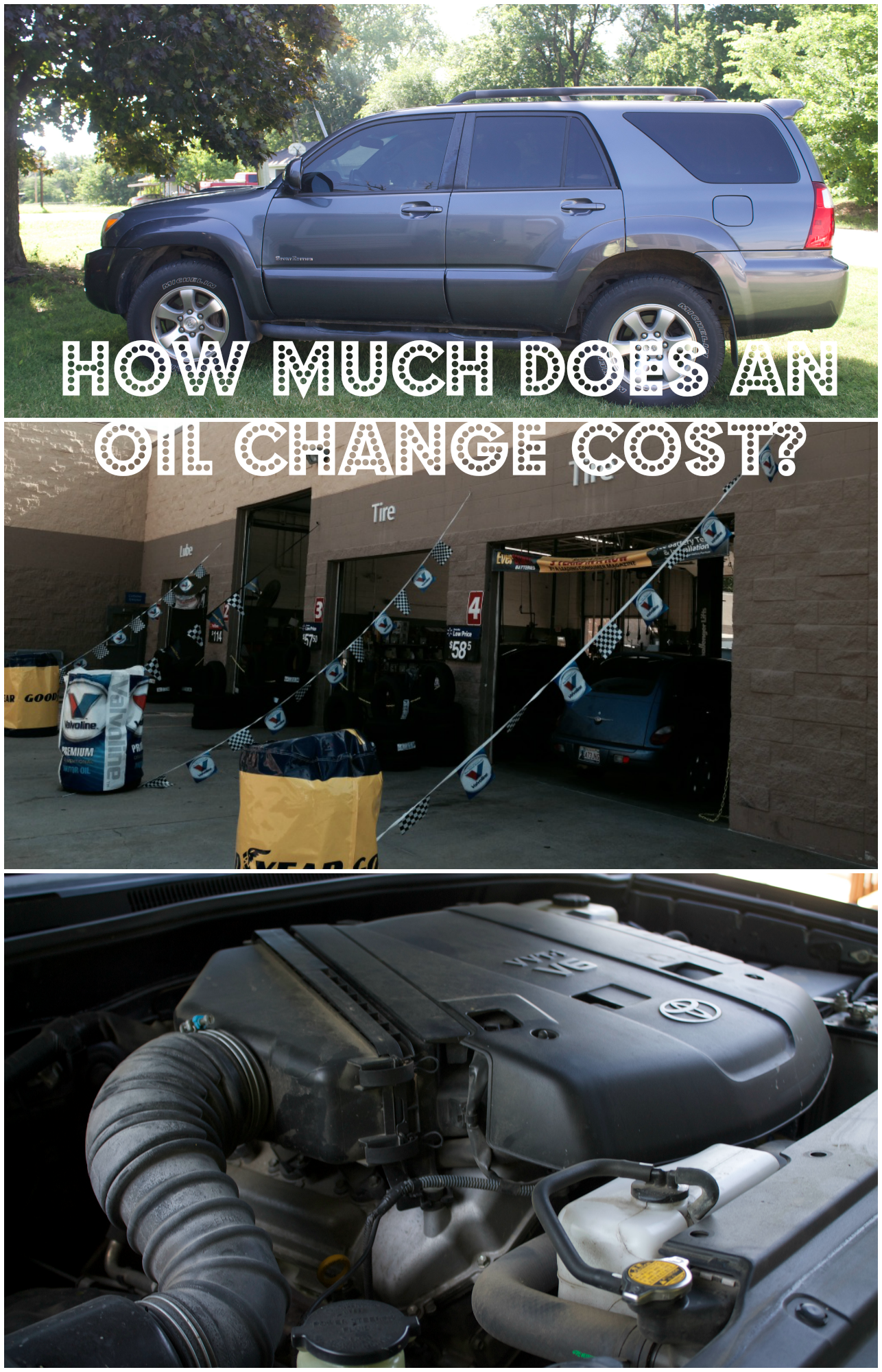 How much does it cost to get car oil changed 14
