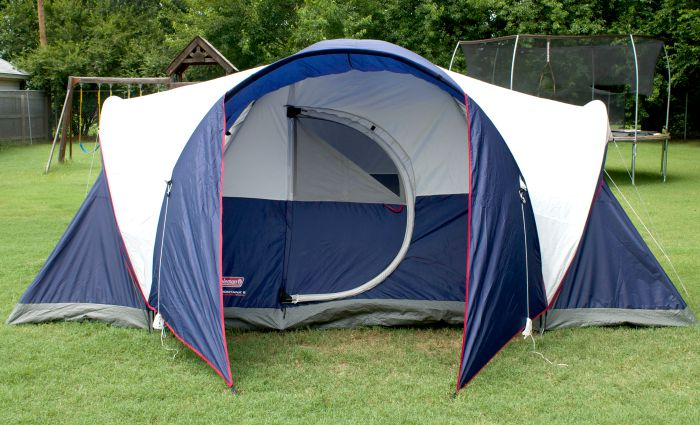 Must Have C&ing Gear Coleman Review & Pin Coleman Montana 8 Person Tent Image 10 From The Video on Pinterest