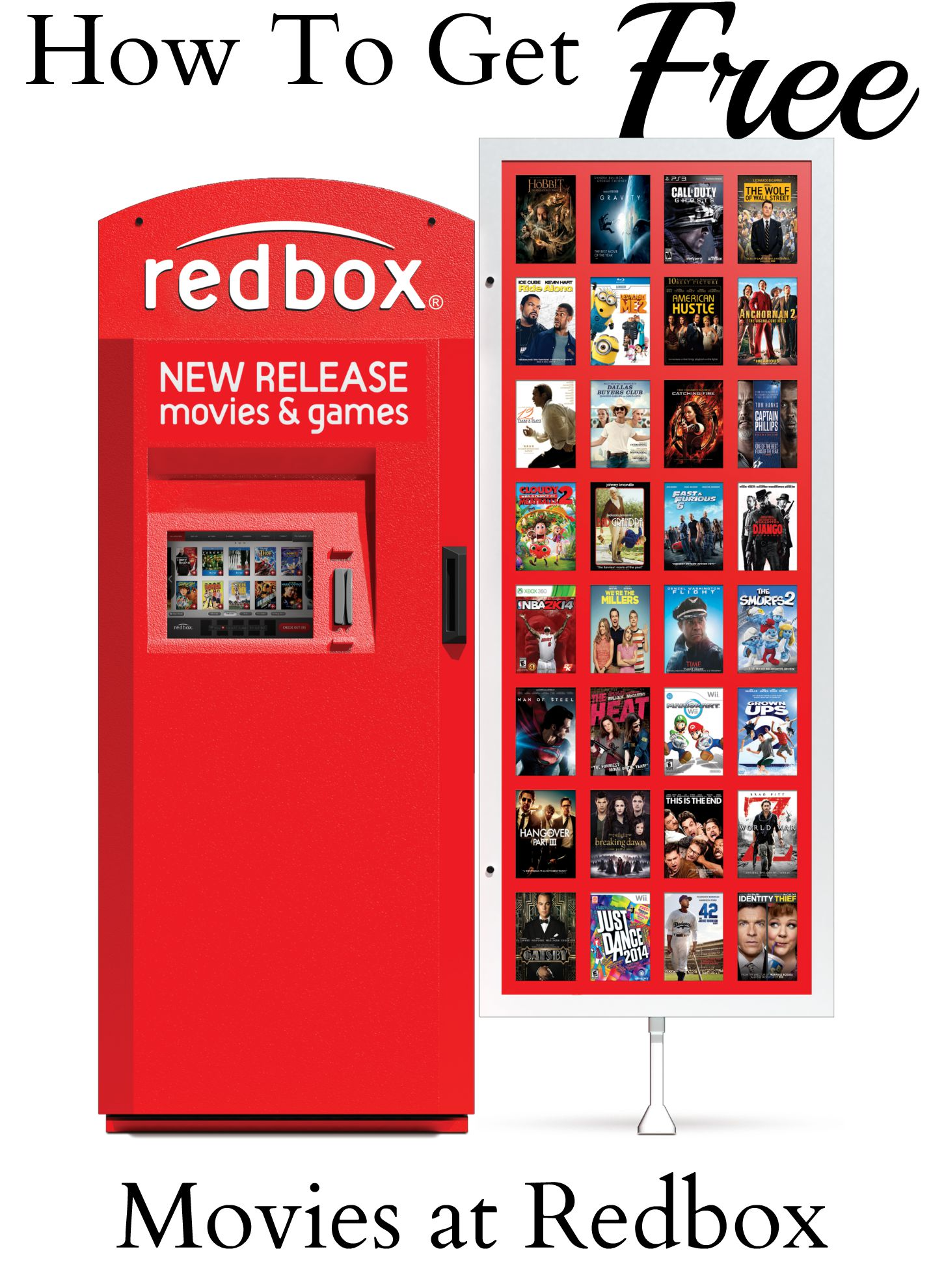 Although Redbox codes are the most popular way to watch new movies for free, there are many ways using Redbox benefits your wallet. Your local Redbox kiosk is .