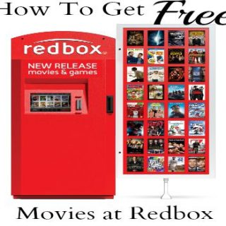 How To Get Free Redbox Codes For Free Movie Rentals