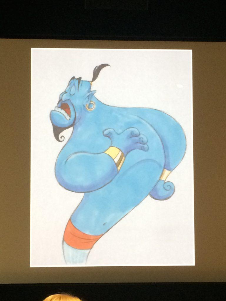 Genie from Aladdin drawing