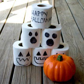 Halloween Pumpkin Bowling Game