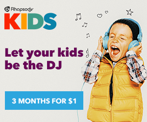 Rhapsody Kids Special Offer
