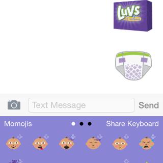 Luvs Momoji Keyboard App + $100 Giveaway