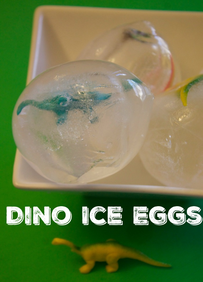 Dinosaur Activity for Kids Dino Ice Eggs