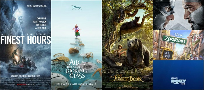 ... now, take a look at the Disney movies coming out in 2016 and mark your