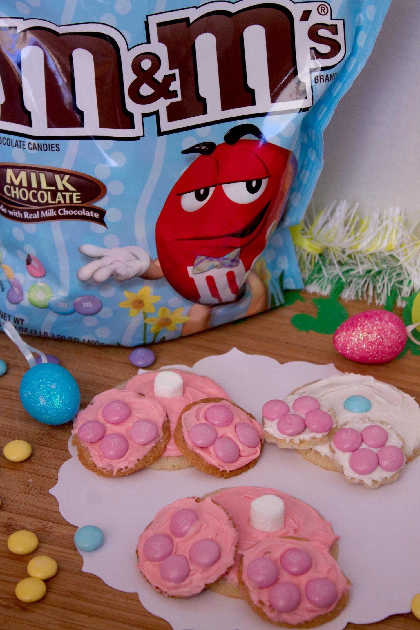 Easter bunny bottom cookies