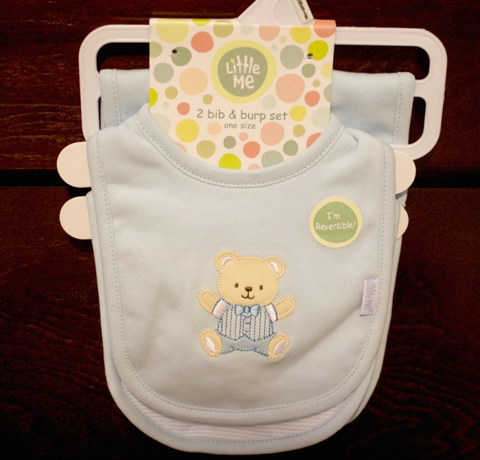 little me boys bib